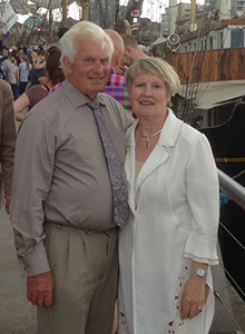 Self Catering Largy Coastal Apartments - Owners Harold and Gladys Smyth