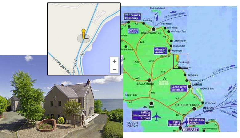 Contact Us Largy Coastal Self Catering Apartments