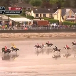 Horse Racing Carnlough Beach