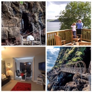 Offer 2 - Three nights luxury self catering in Largy Coastal Apartments with a two to three hour guided tour of The Gobbins Cliff Walk.