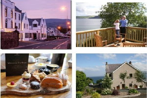 Offer 3 - Threenights luxury self catering in Largy Coastal Apartments with a Game of Thrones Afternoon tea in Ballygally Castle Hotel.